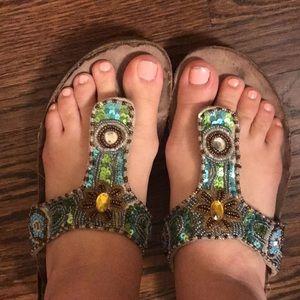 🔮 Embellished Platform Sandals 🔮